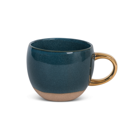 cup reactive glaze legion blue