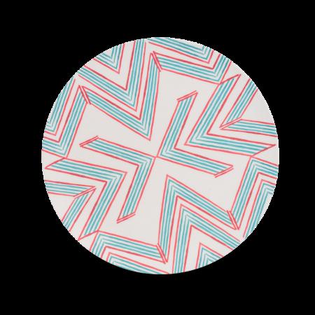 plate Ziguezague
