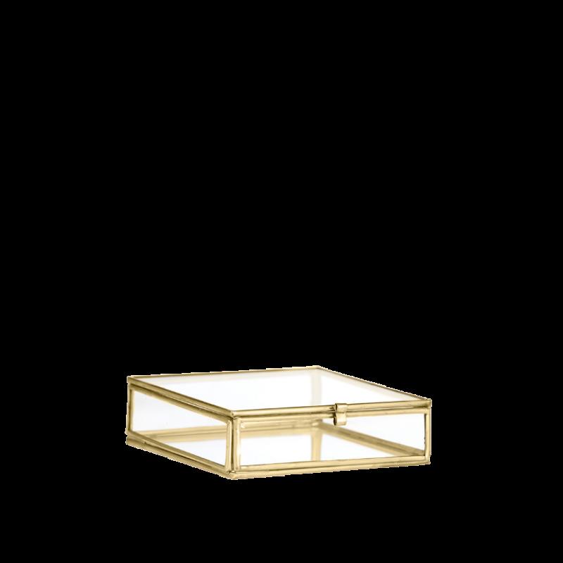 QUADRATIC GLASS BOX