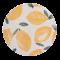 Πιάτο Μπαμπού Sicilian Summer Lemon