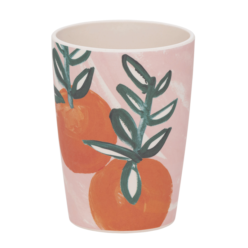 Ποτήρι  Μπαμπού Sicilian Summer Pink Orange