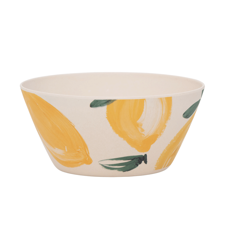 Bowl Bamboo Sicilian Summer Lemon
