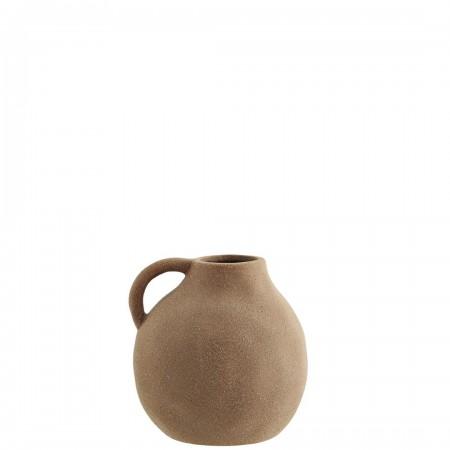 Stoneware vase w/ handle