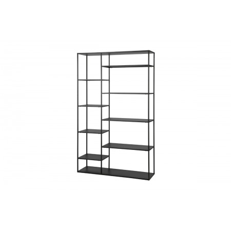 June cabinet metal black 120cm