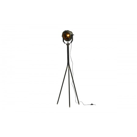 Theatre floor lamp metal