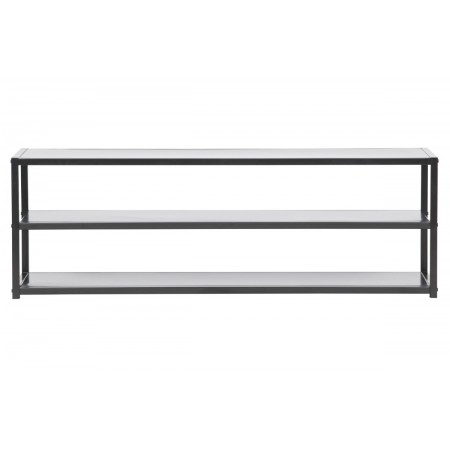 Teun TV unit metal black