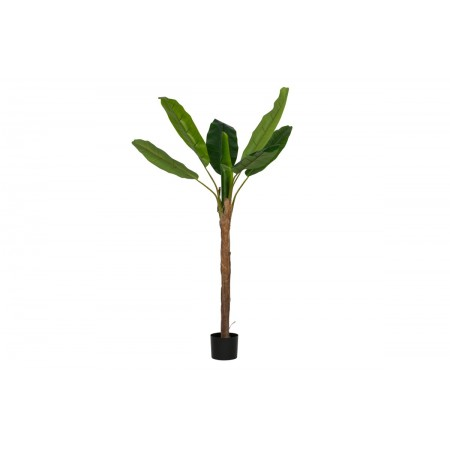 Banana plant artificial plant green 180cm (1 trunk)