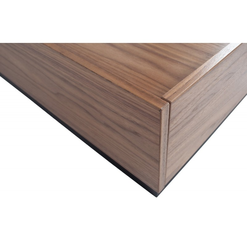 Block coffee table pine walnut 135x60 [fsc]