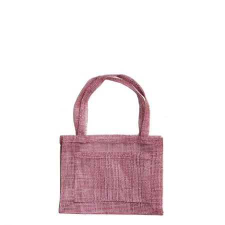 Small pink bag with pocket