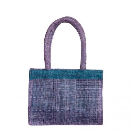 Violet bag with strap