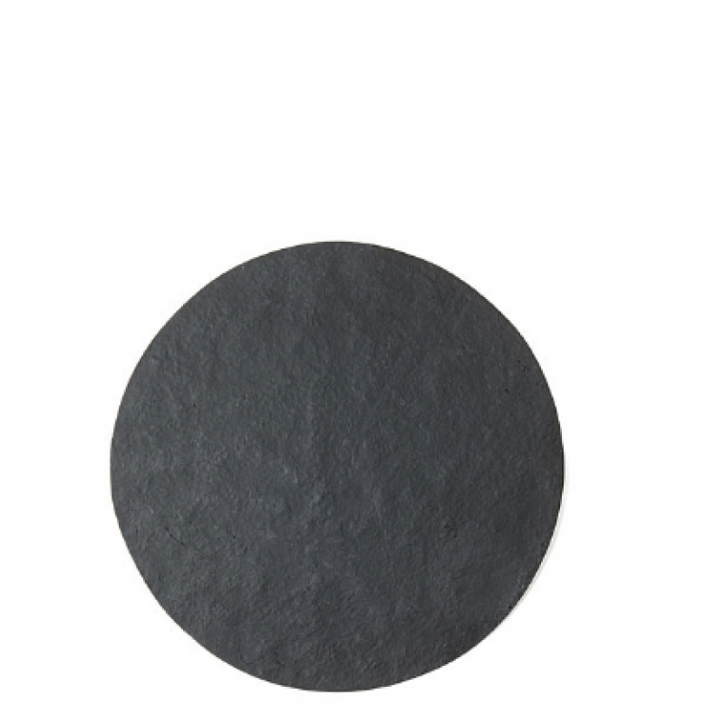 Tablemat in black artificial stone