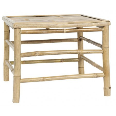Side Table square bamboo large