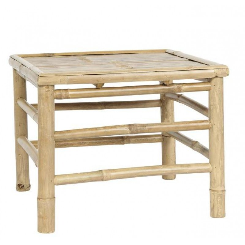 Side Table square bamboo small