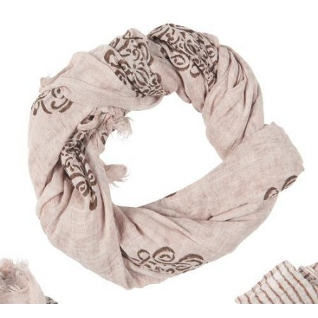 Scarf old rose