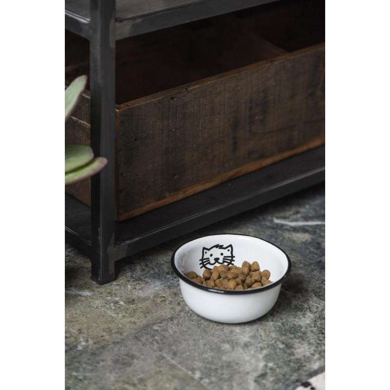 Bowl for cat enamel