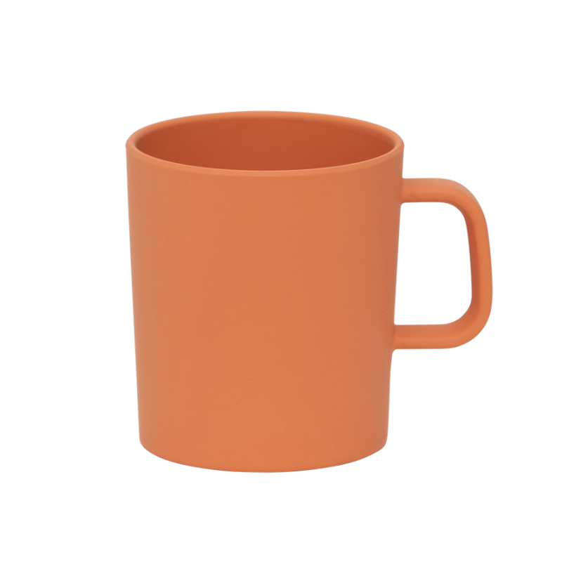Mug with ear orange