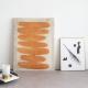 Wall deco silk minimalism, Buckskin