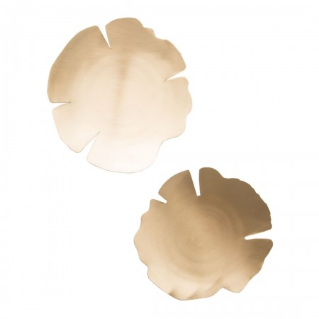 Dish leaves, set of 2