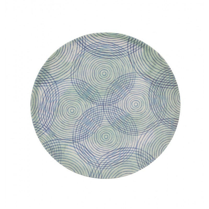πιάτο colourful circles