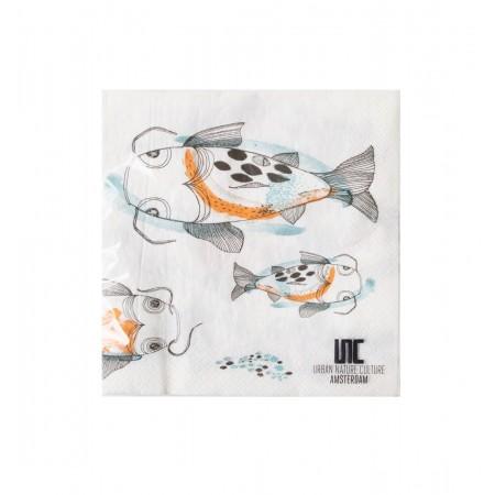 Napkin, fish