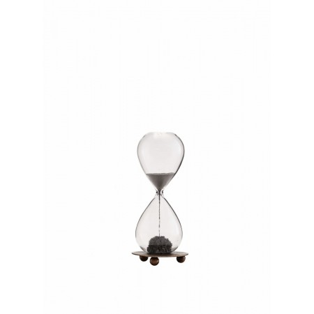 Hourglass w/ magnet and tray