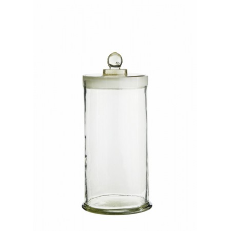 Glass jar w/ lid