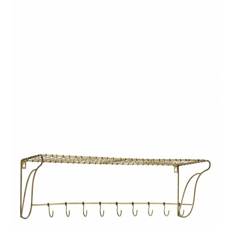 Shelf w/ hooks