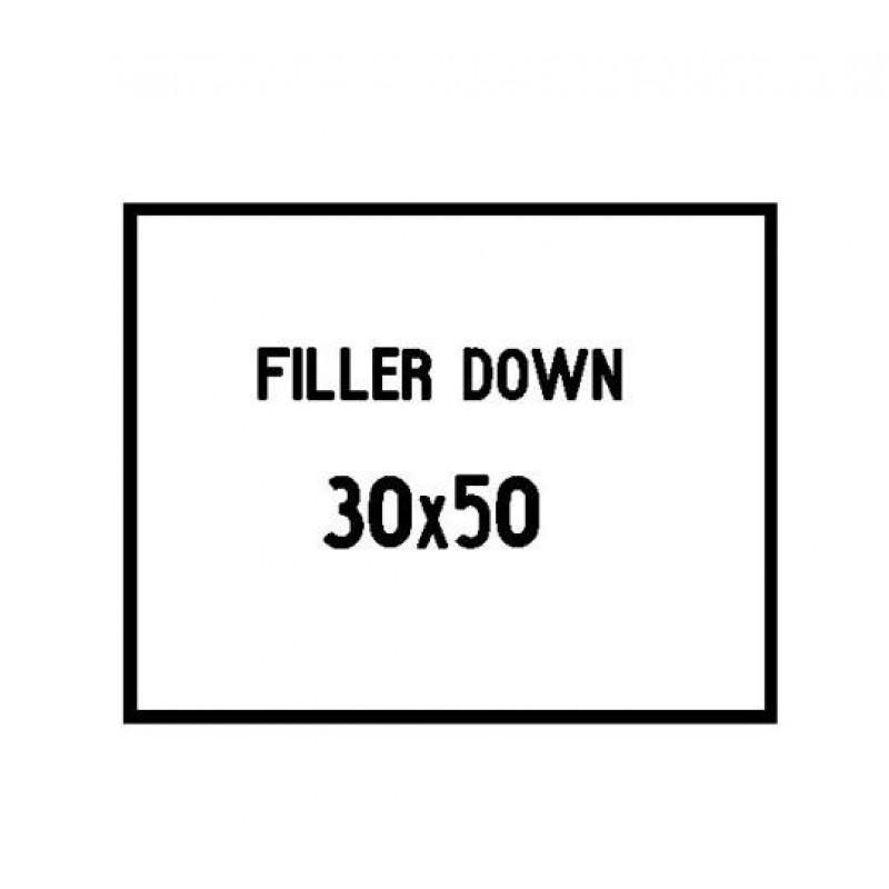 30x50 cushion filler