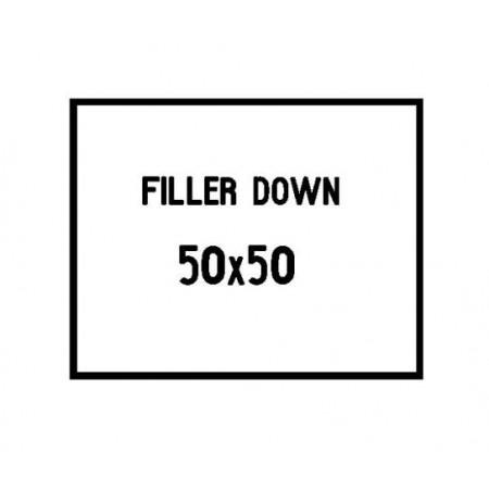 50x50 cushion filler