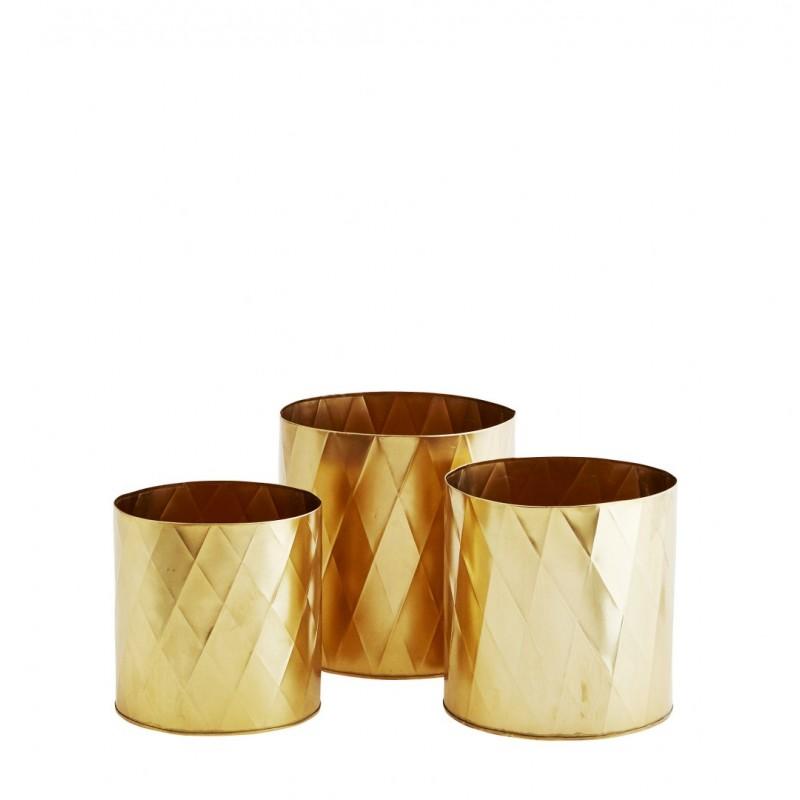 Pots w/ harlequin pattern