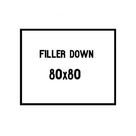 80x80 cushion filler