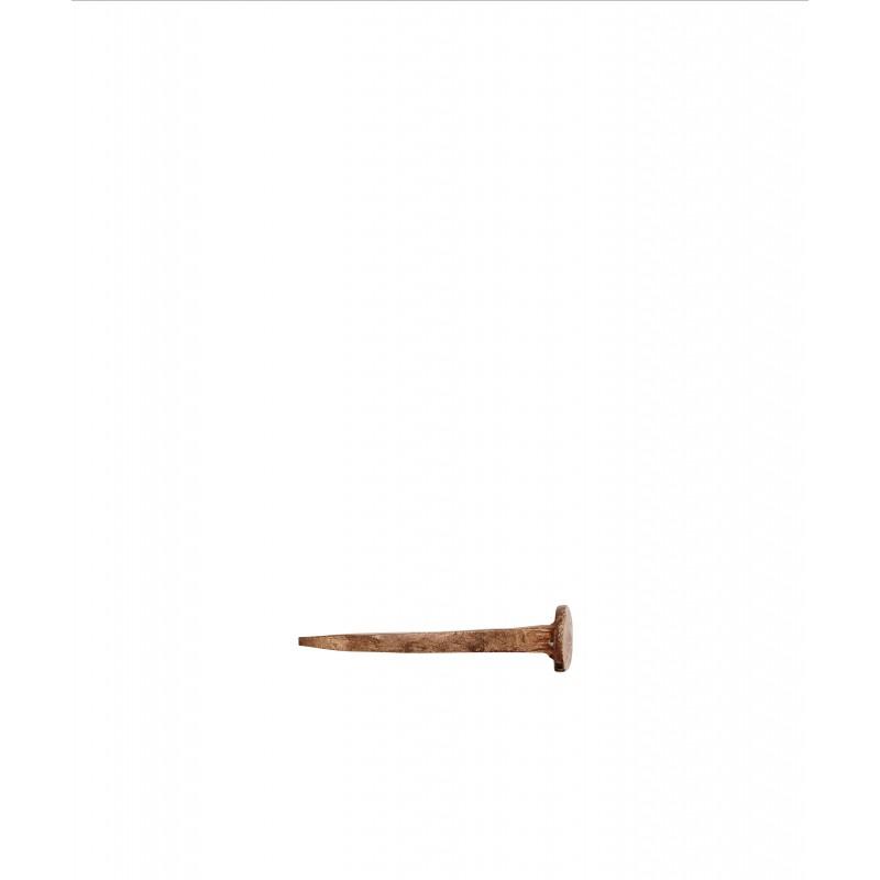 Hand forged nail