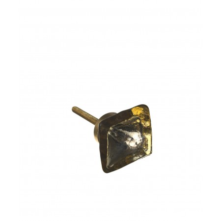 Glass knob, square