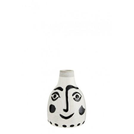 Vase w/face