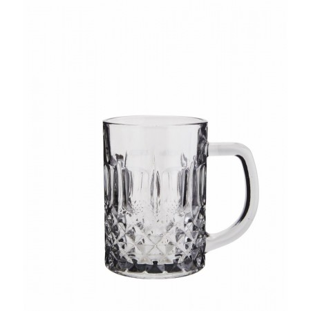 Drinking glass w/ handle