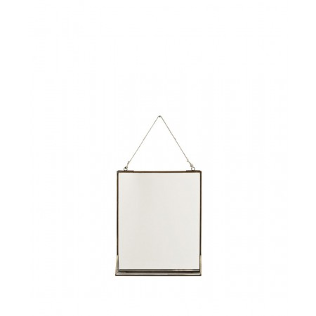Hanging mirror w/ shelf