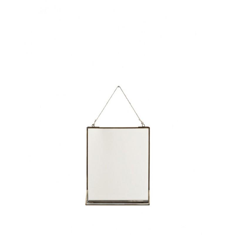 Hanging mirror w/ shelf