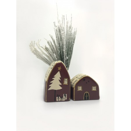 Handmade Music Small Houses set/2