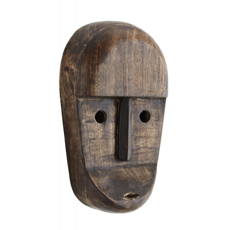 Μάσκα ξύλινη με μάτια